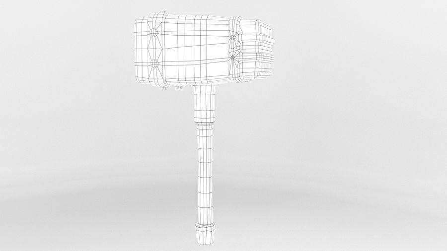 远古之锤 royalty-free 3d model - Preview no. 19