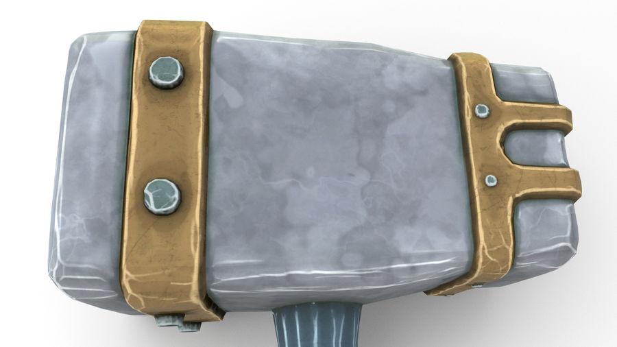 远古之锤 royalty-free 3d model - Preview no. 45
