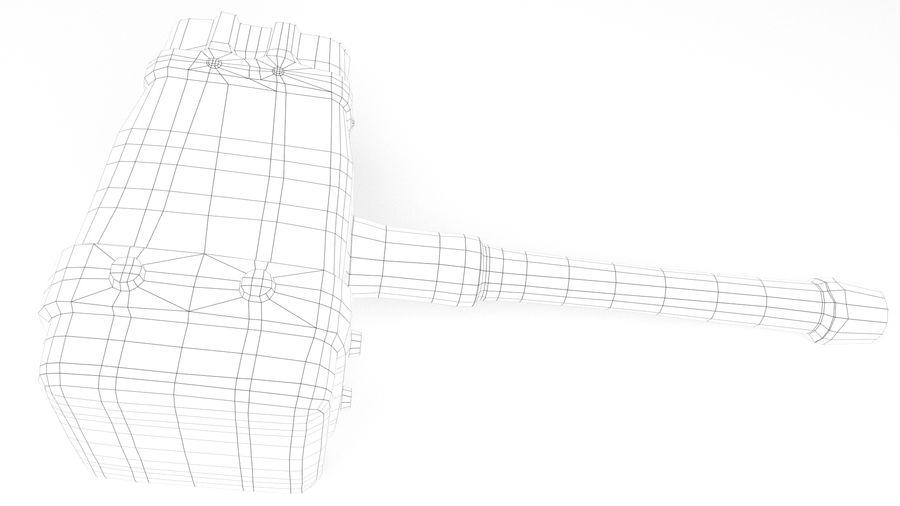 远古之锤 royalty-free 3d model - Preview no. 37