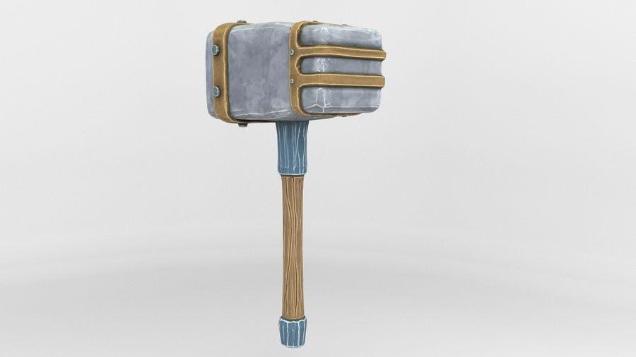 远古之锤 royalty-free 3d model - Preview no. 16