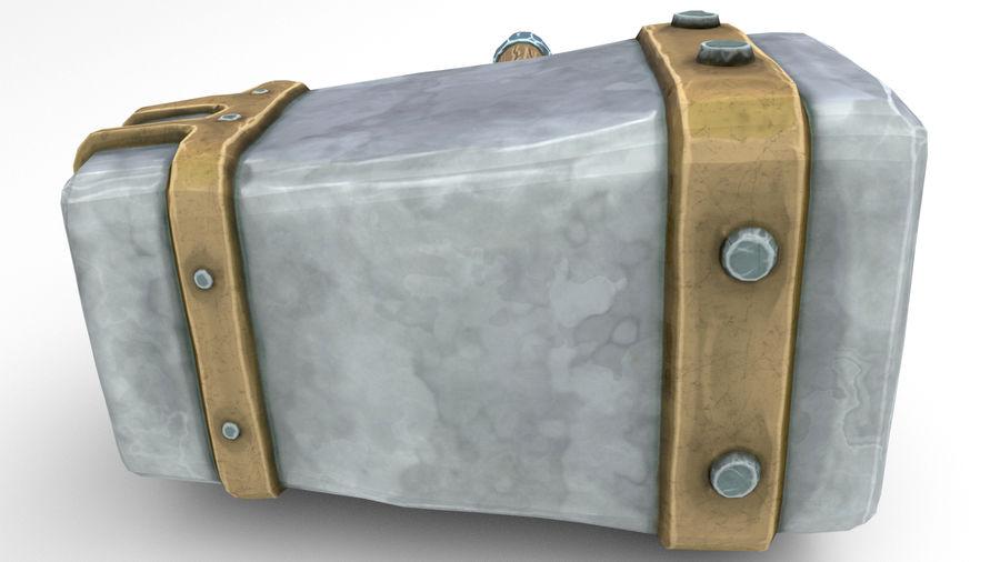 远古之锤 royalty-free 3d model - Preview no. 48
