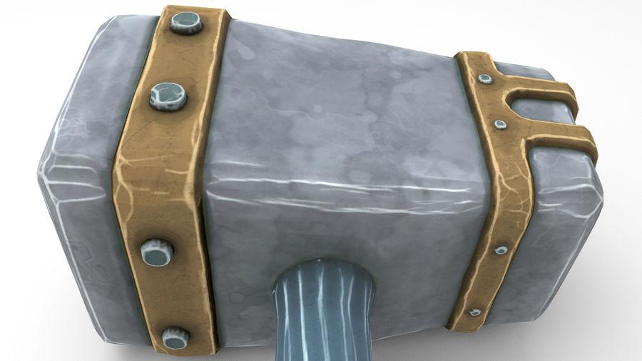 远古之锤 royalty-free 3d model - Preview no. 42