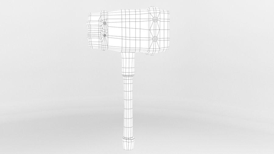 远古之锤 royalty-free 3d model - Preview no. 9