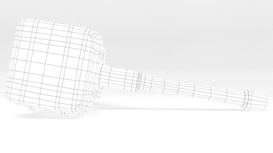 远古之锤 royalty-free 3d model - Preview no. 31