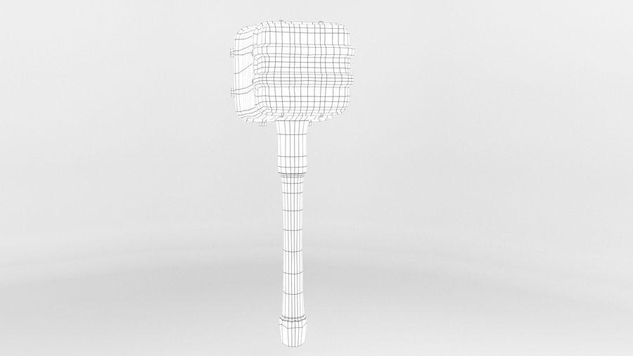 远古之锤 royalty-free 3d model - Preview no. 15