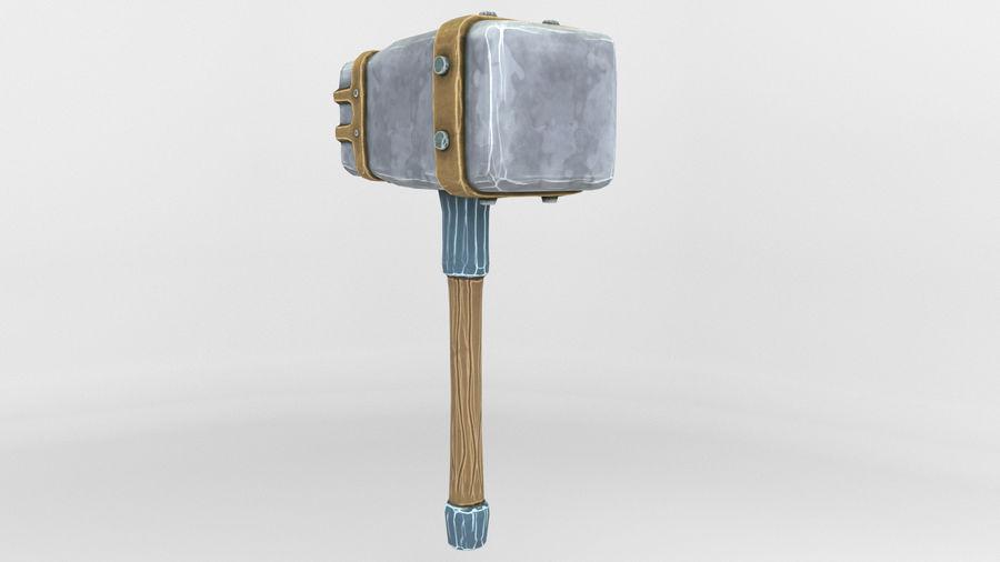 远古之锤 royalty-free 3d model - Preview no. 4