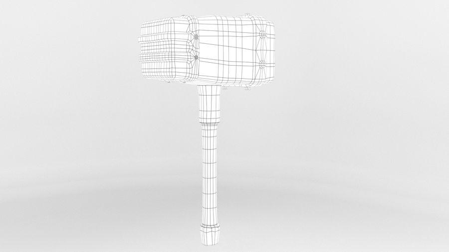 远古之锤 royalty-free 3d model - Preview no. 11