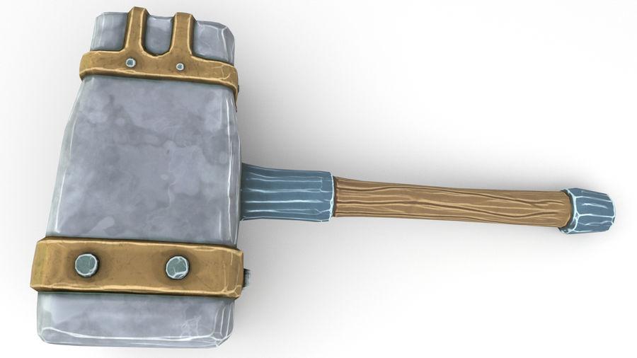 远古之锤 royalty-free 3d model - Preview no. 38