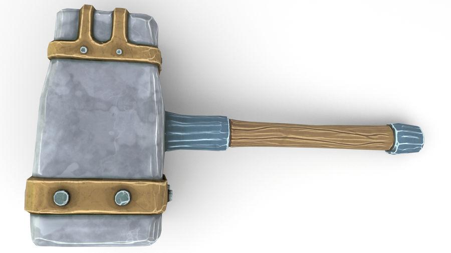 远古之锤 royalty-free 3d model - Preview no. 28