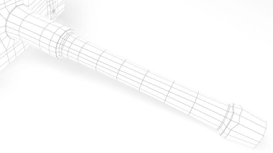 远古之锤 royalty-free 3d model - Preview no. 41