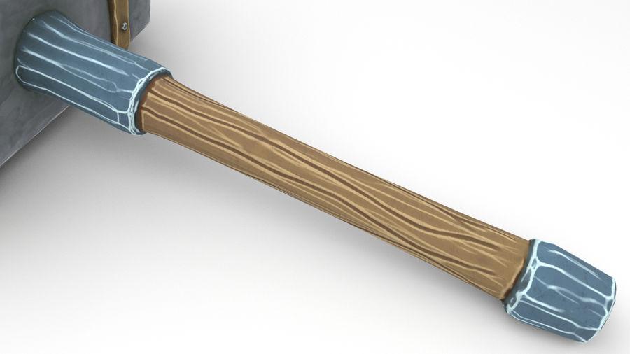 远古之锤 royalty-free 3d model - Preview no. 40