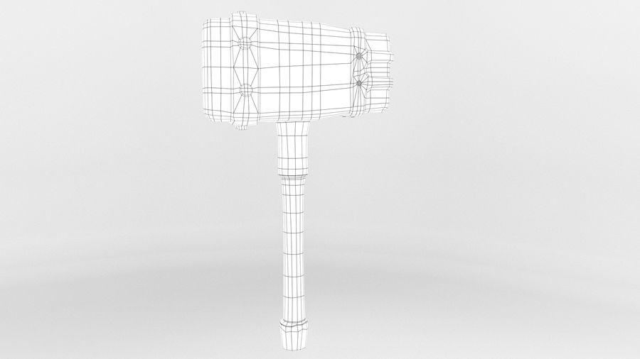 远古之锤 royalty-free 3d model - Preview no. 21