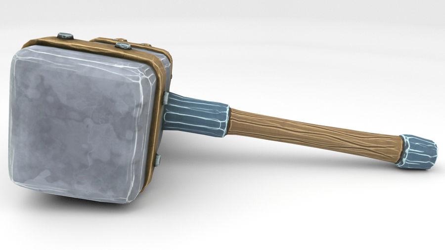 远古之锤 royalty-free 3d model - Preview no. 32