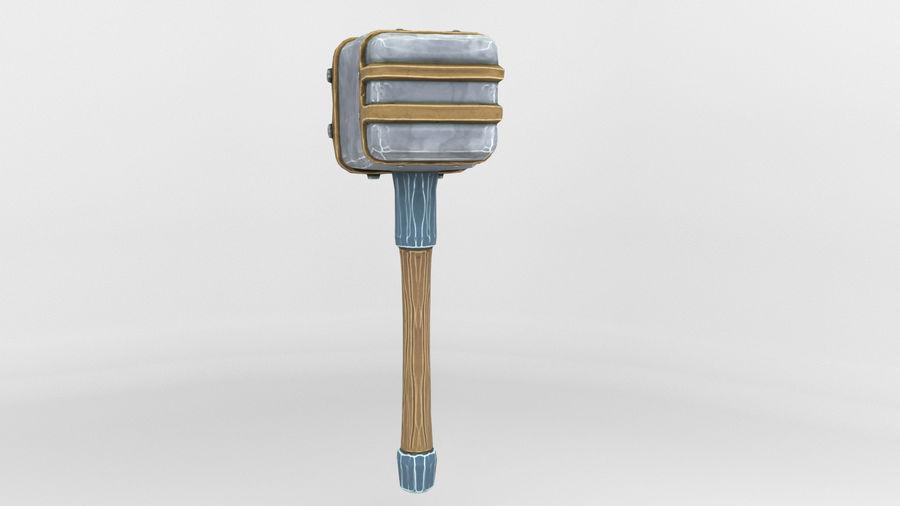 远古之锤 royalty-free 3d model - Preview no. 14
