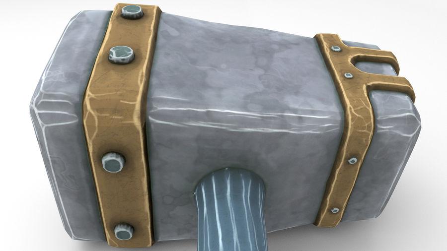 远古之锤 royalty-free 3d model - Preview no. 43