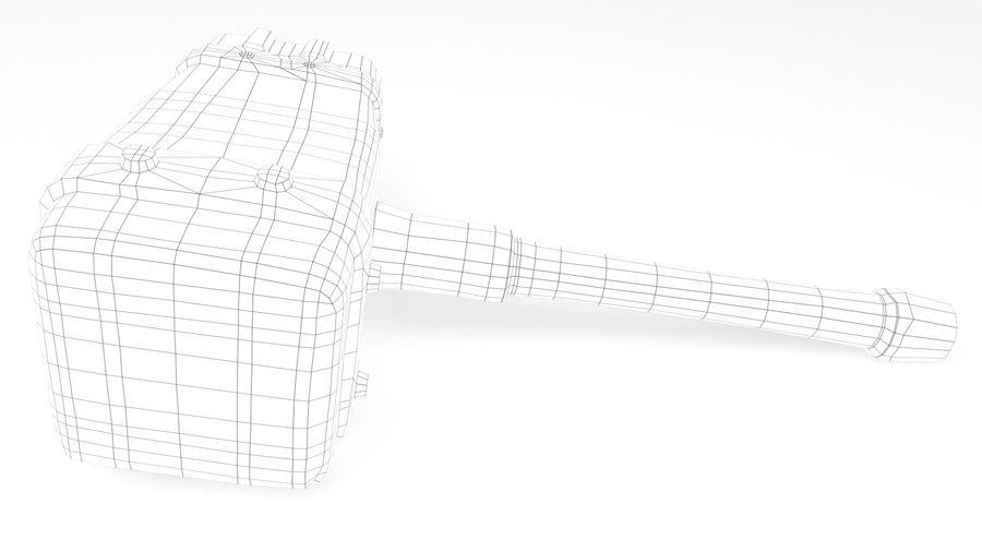 远古之锤 royalty-free 3d model - Preview no. 35