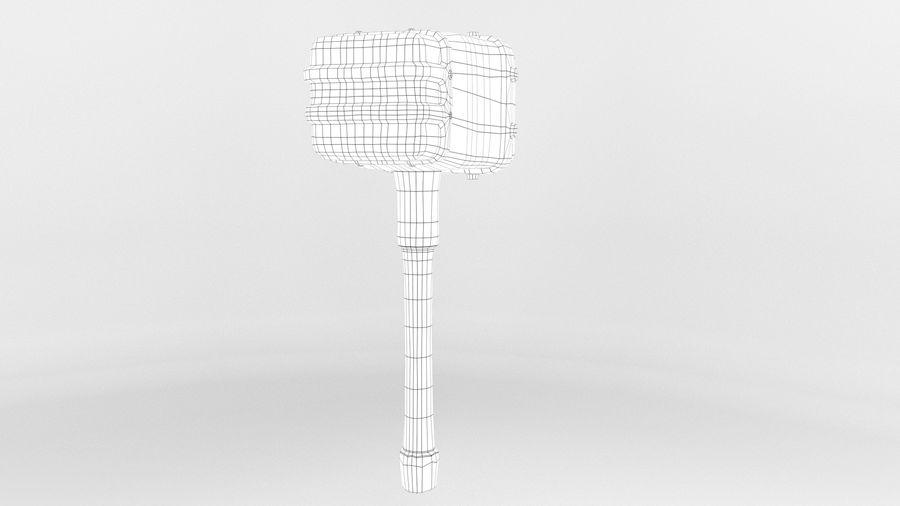 远古之锤 royalty-free 3d model - Preview no. 13