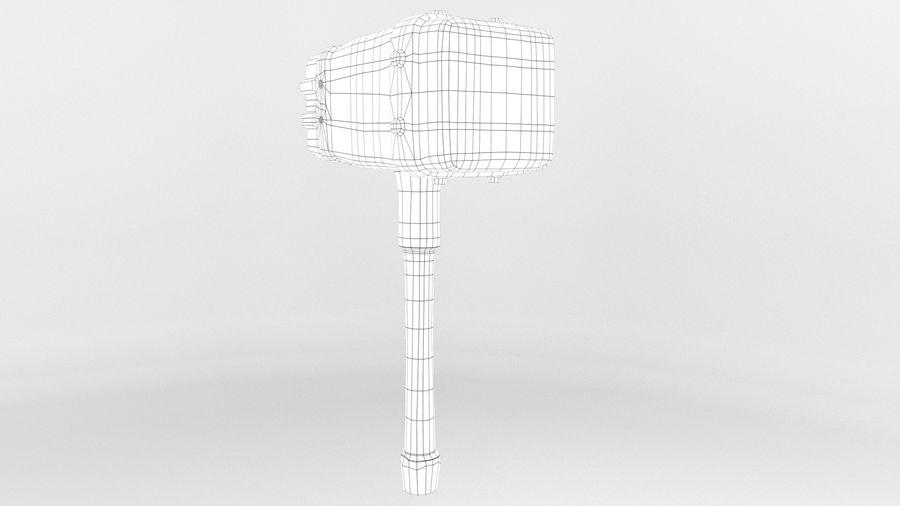 远古之锤 royalty-free 3d model - Preview no. 5
