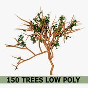 树低聚 3d model