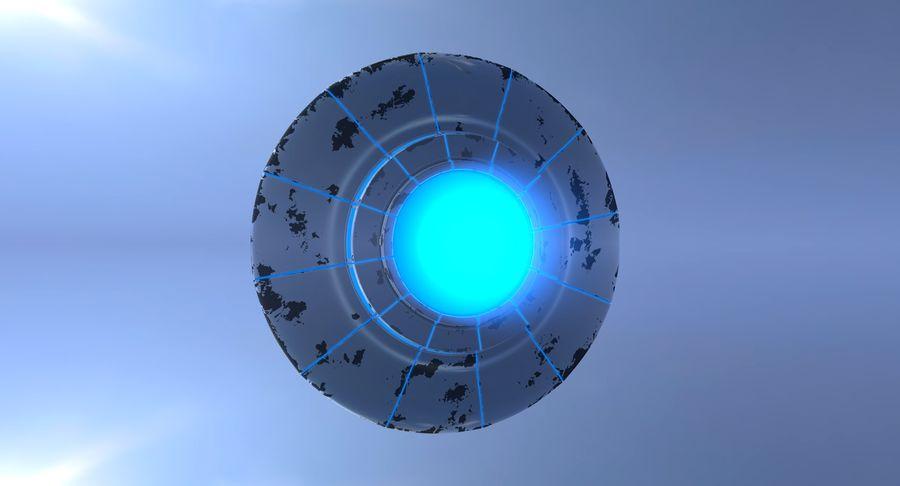 UFO 외계인 우주선 royalty-free 3d model - Preview no. 9