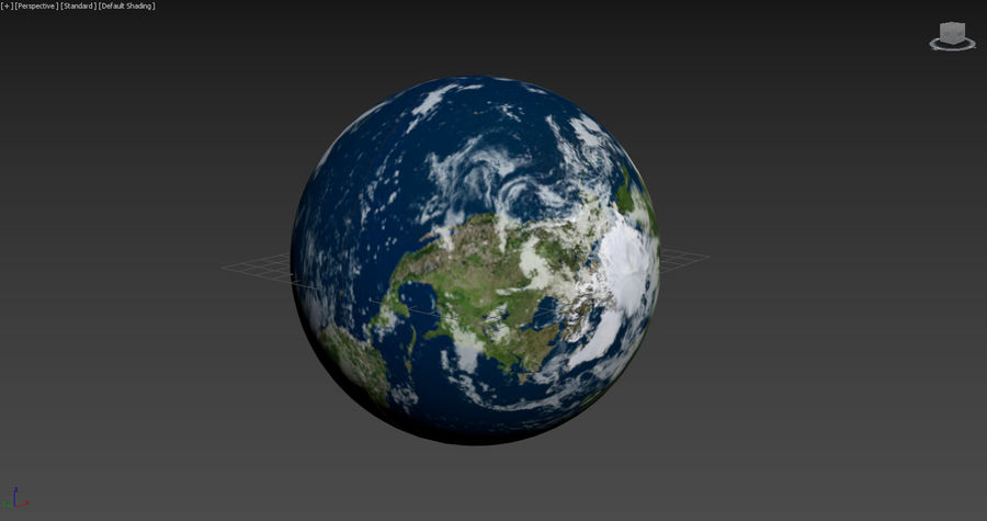 Earth Structure animation royalty-free 3d model - Preview no. 5