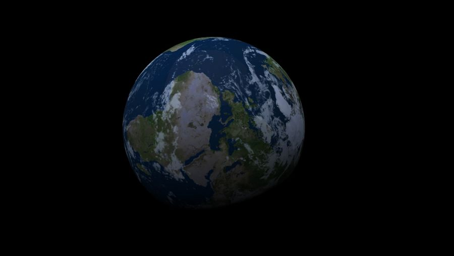 Earth Structure animation royalty-free 3d model - Preview no. 3