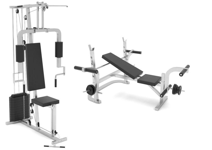 Equipos de gimnasio royalty-free modelo 3d - Preview no. 1