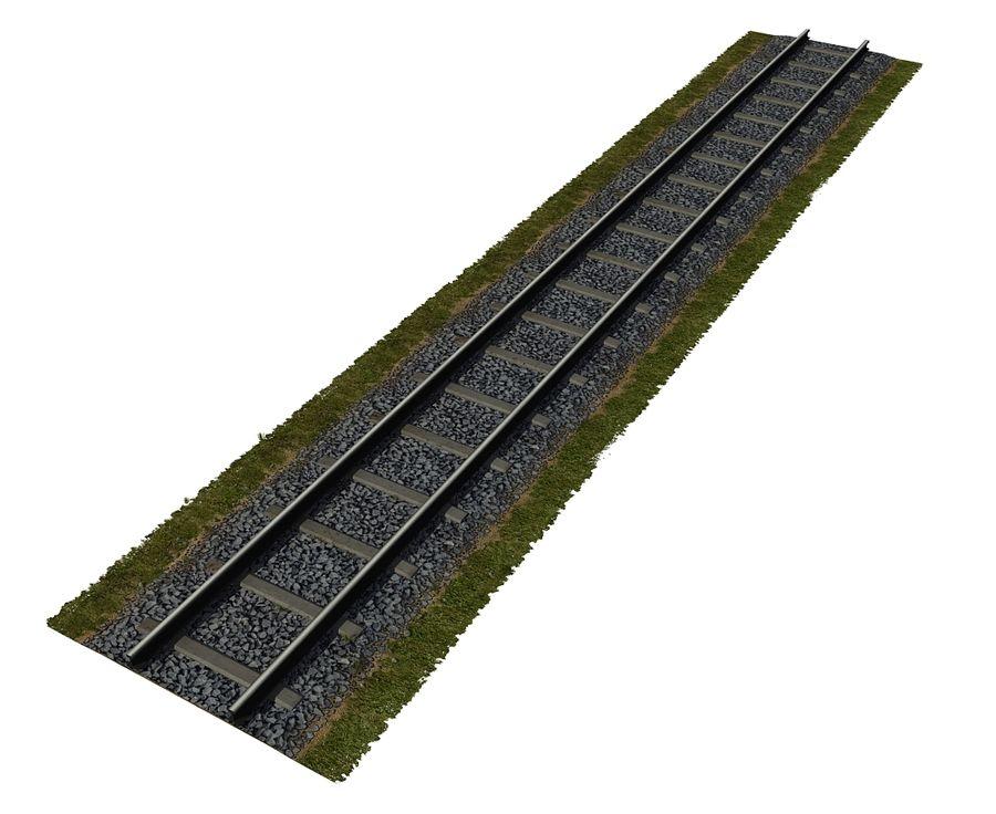 Järnväg royalty-free 3d model - Preview no. 6