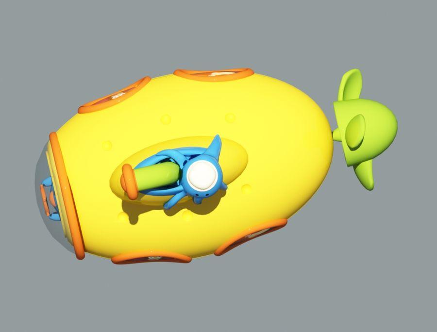 statek kosmiczny zabawka royalty-free 3d model - Preview no. 5
