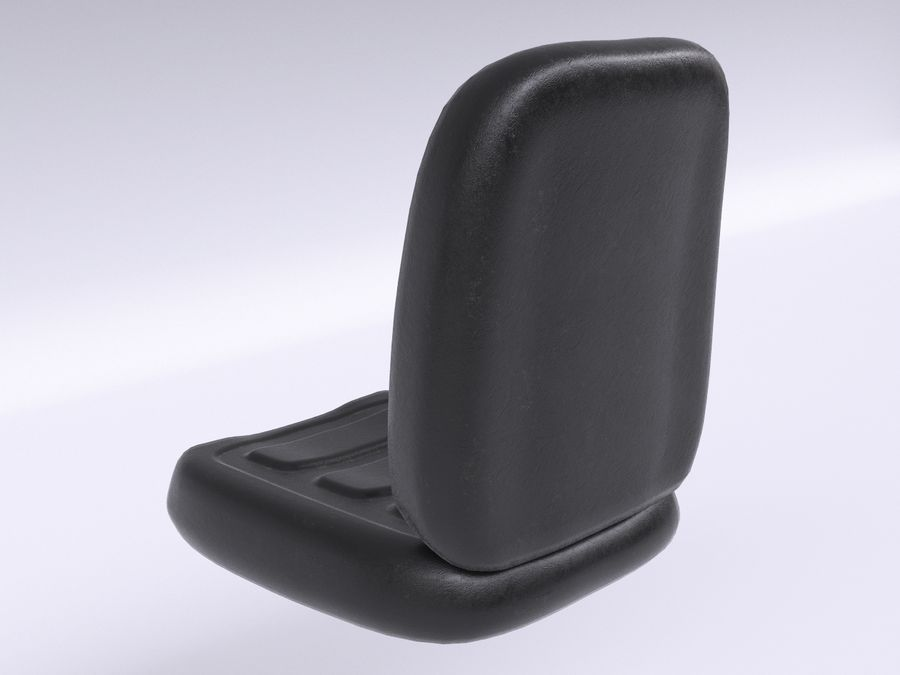 Vehicle Seat HD royalty-free 3d model - Preview no. 9