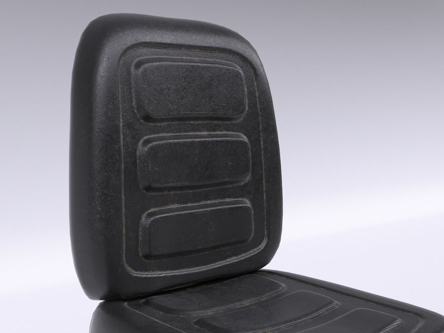 Vehicle Seat HD royalty-free 3d model - Preview no. 8