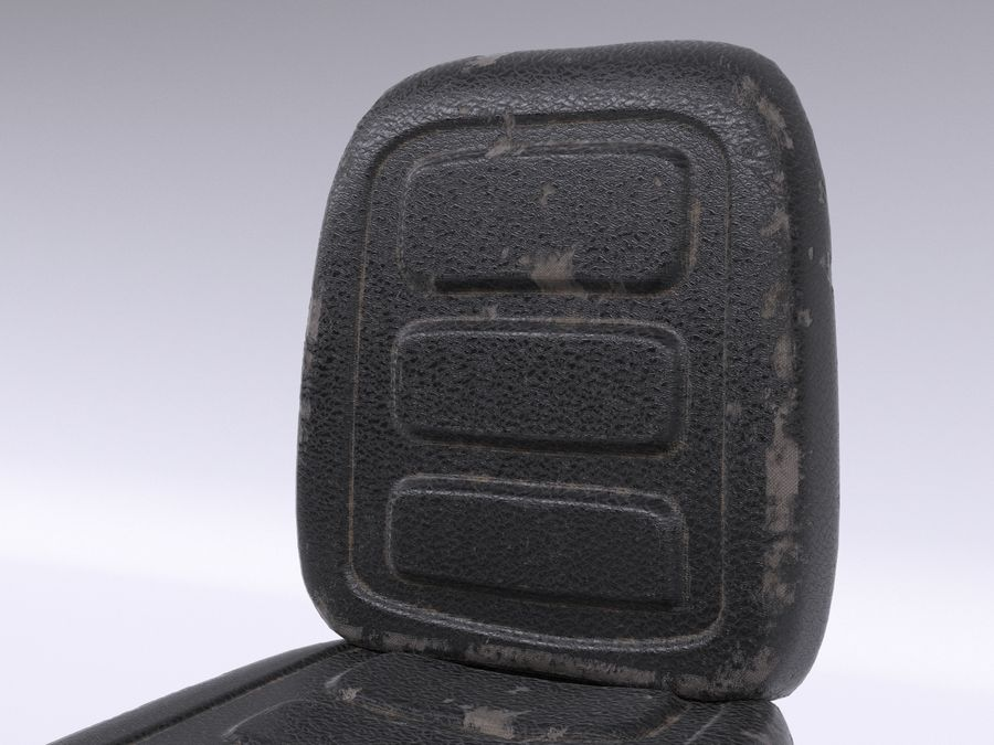 Vehicle Seat HD royalty-free 3d model - Preview no. 5