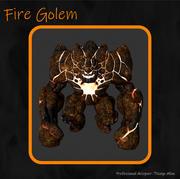 골렘 3d model