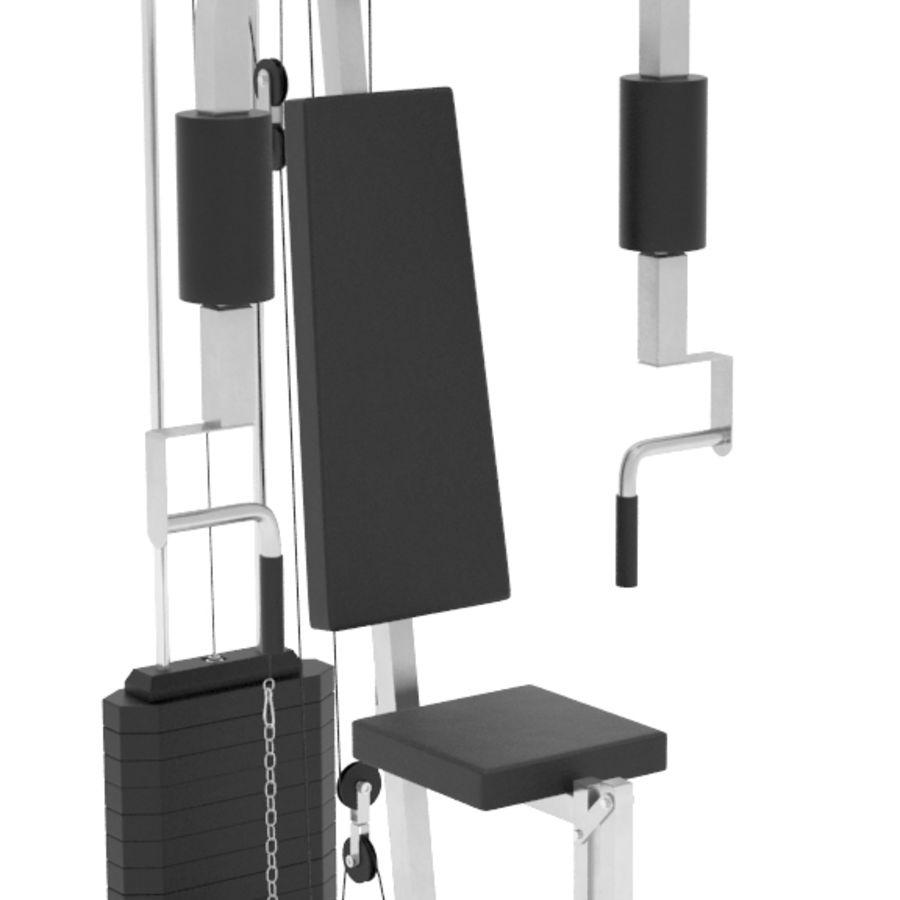 健身器材 royalty-free 3d model - Preview no. 8