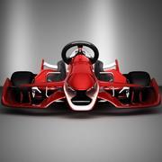 karting F1 3d model