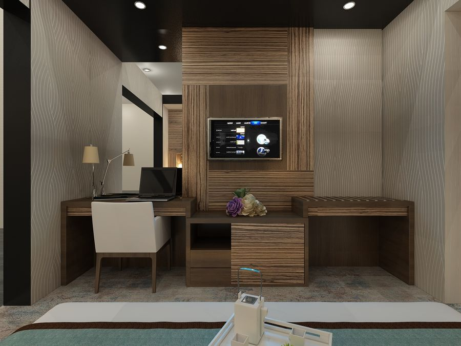 Exhibition Booth royalty-free 3d model - Preview no. 12