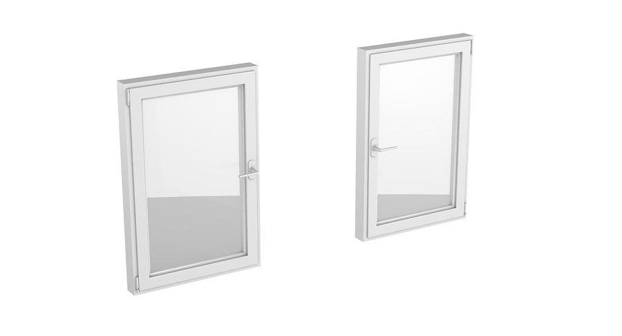 Pvc Window 80x120 3d Model 15 Obj Fbx C4d 3ds Free3d