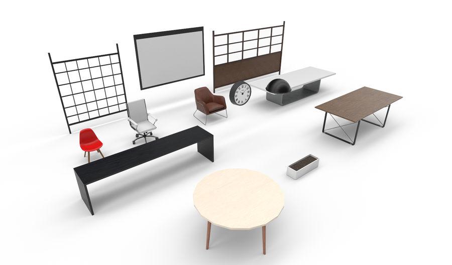 Интерьерная коллекция Pack Low-poly 3D модель royalty-free 3d model - Preview no. 3