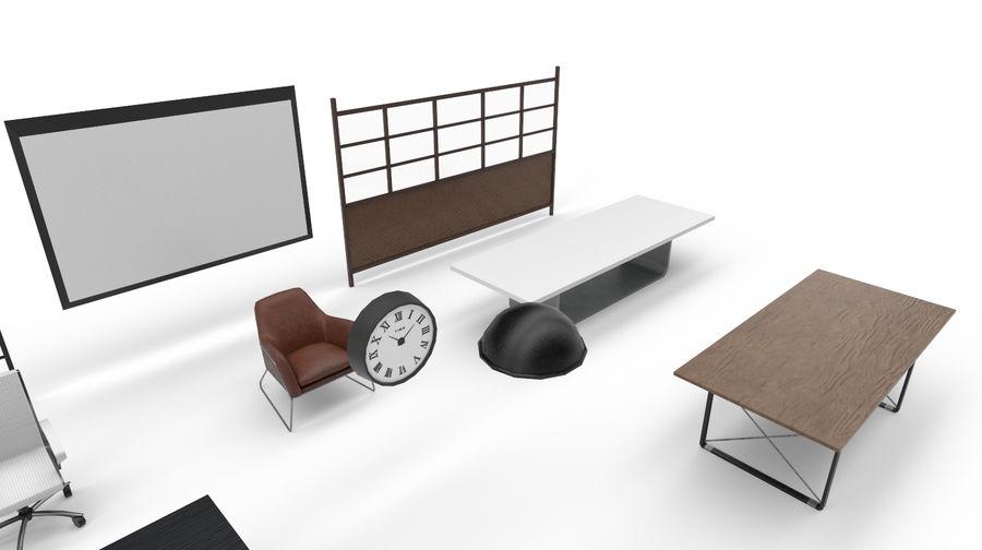 Интерьерная коллекция Pack Low-poly 3D модель royalty-free 3d model - Preview no. 7