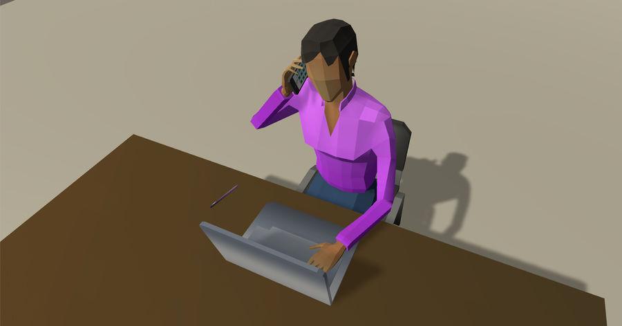 Düşük Poli İş Adamları royalty-free 3d model - Preview no. 4