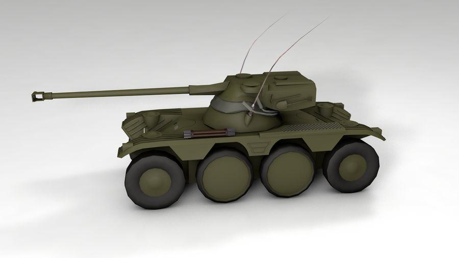군용 차량 낮은 폴리 royalty-free 3d model - Preview no. 5