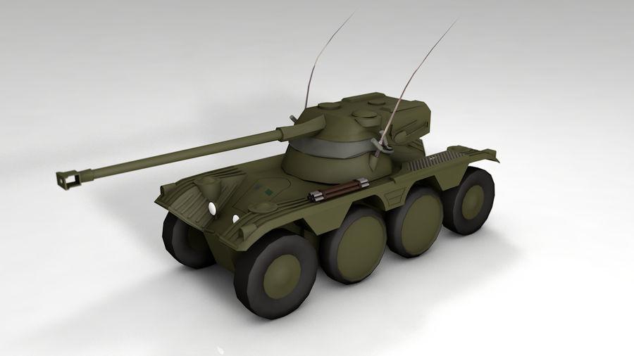 군용 차량 낮은 폴리 royalty-free 3d model - Preview no. 1