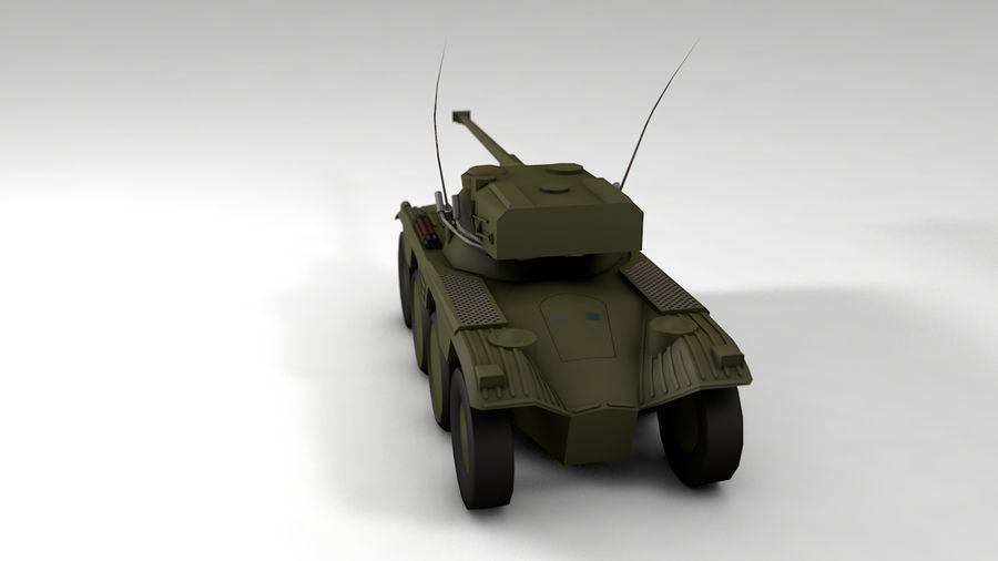 군용 차량 낮은 폴리 royalty-free 3d model - Preview no. 4