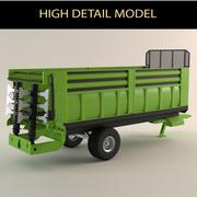 vehículo agrícola modelo 3d