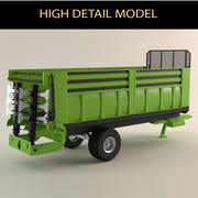 agricultural vehicle 3d model