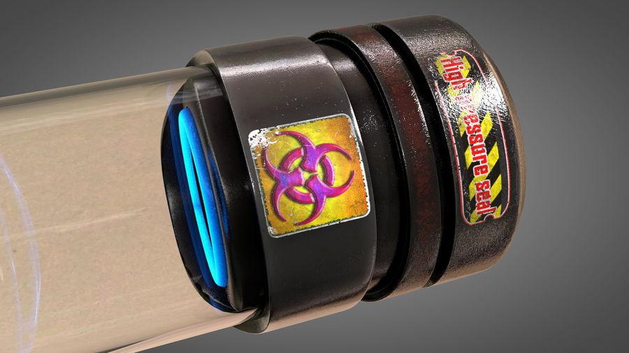 生物容器病毒生物危害 royalty-free 3d model - Preview no. 20