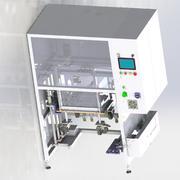 Last- och lossningsutrustning för hiss 3d model