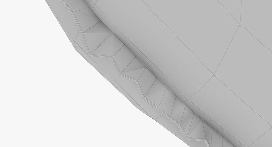 Fylld hjärta med vingar V1 royalty-free 3d model - Preview no. 15