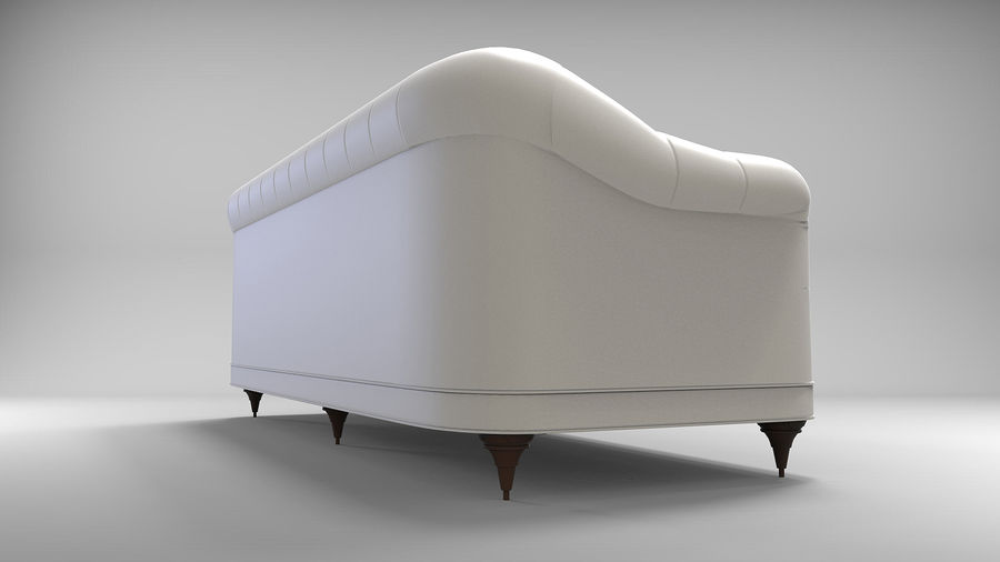 Couch Sofa royalty-free 3d model - Preview no. 3