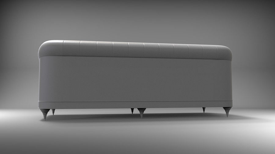 Couch Sofa royalty-free 3d model - Preview no. 8